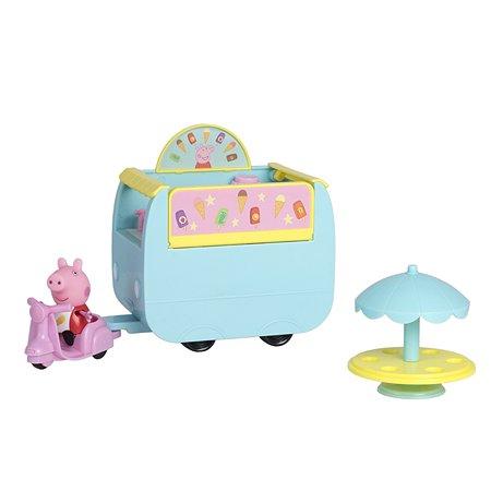 Набор Свинка Пеппа палатка с мороженым 33849