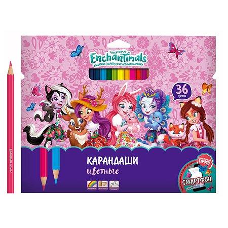 Карандаши цветные Barbie Ench 36 цветов 0706279