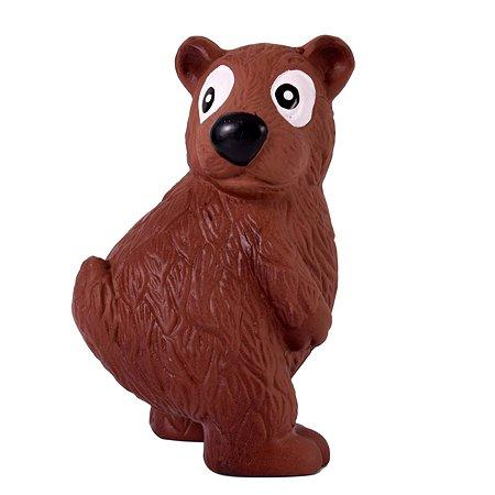 Игрушка для собак Petstages OH Tootiez Медведь с пищалкой 67813