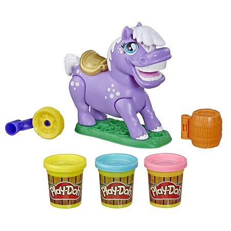 Набор для лепки Play-Doh Пони-трюкач E67265L0