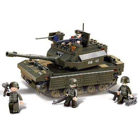 Конструктор SLUBAN Сухопутные войска. Танк 2