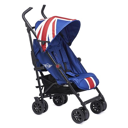 Коляска Easywalker Mini Buggy+ Union Jack Classic с бампером