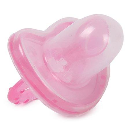 Пустышка BabyGo с колпачком с 6месяцев Pink Z-008