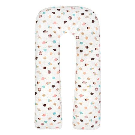 Подушка для беременных AMARO BABY Фруктовый лед U-образная ABDM-40U-E