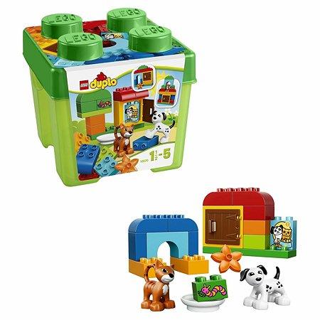 Конструктор LEGO DUPLO My First Лучшие друзья: кот и пёс (10570)