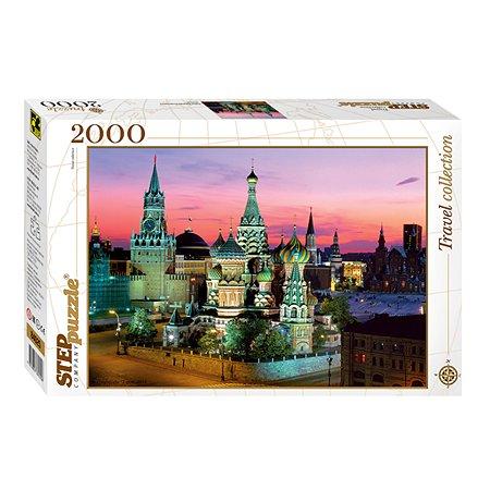 Пазл Step Puzzle Собор Василия Блаженного 2000 элементов 84025