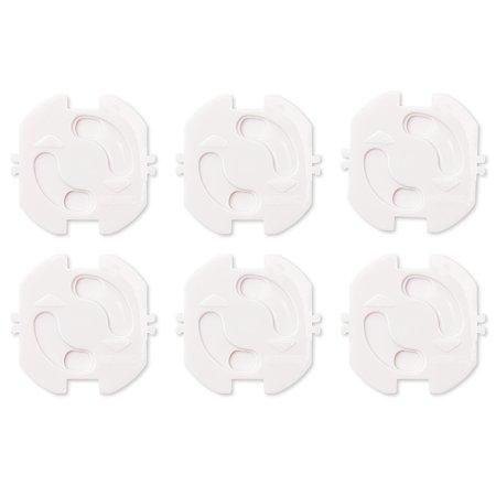 Защита для розеток Clippasafe (6 шт.)  белый