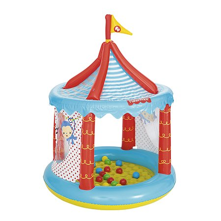 Центр игровой Bestway Fisher Price Цирк с шариками 93505