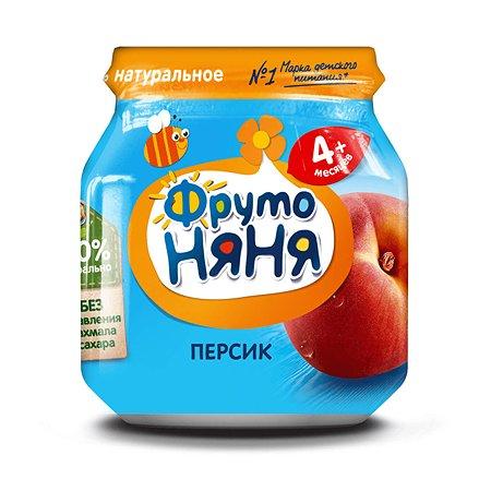 Пюре ФрутоНяня из персиков 100 г с 4 месяцев