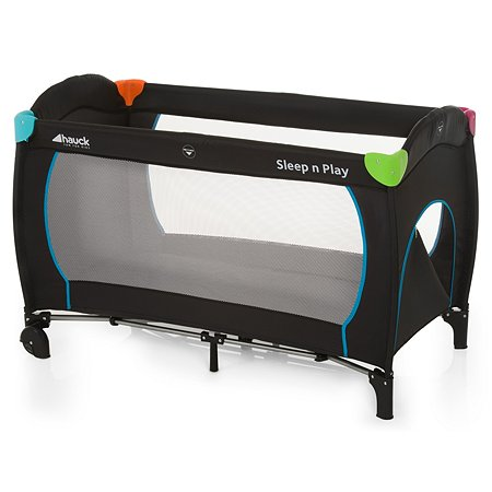 Манеж-кровать Hauck Sleep'n Play Go Plus Multicolor black