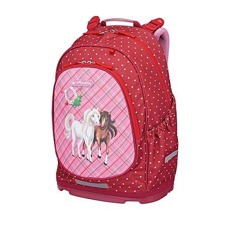 Рюкзак школьный Herlitz Bliss Horses без наполнения