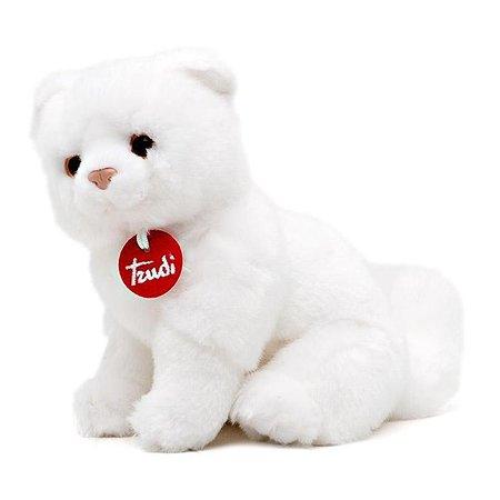 Котёнок Брэд Trudi белый 24 см