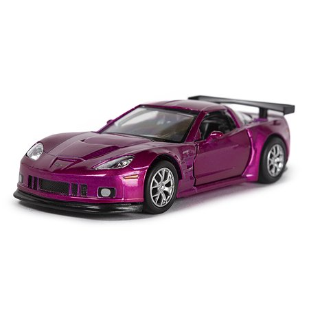 Машина Mobicaro Chevrolet Corvette 1:32 Фиолетовый металлик