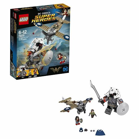 Конструктор LEGO Super Heroes Битва Чудо-женщины (76075)