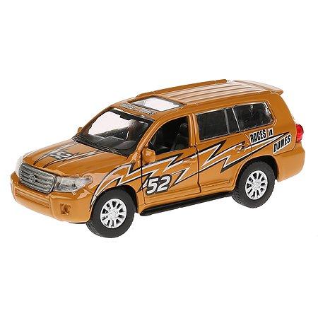 Машина Технопарк Toyota Land Cruiser Спорт инерционная 262769