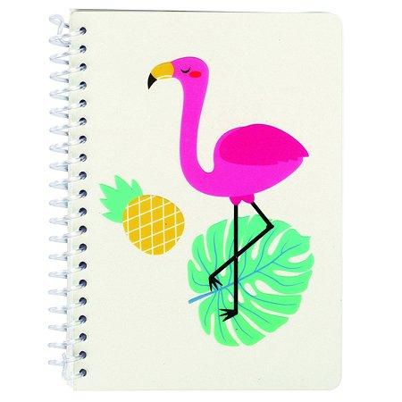 Блокнот Johnshen Фламинго ID13205