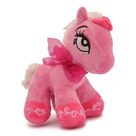 Игрушка мягкая Ball Masquearde Лошадка розовый 20см