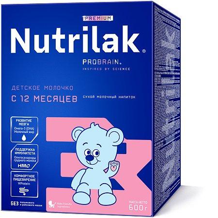 Смесь молочная Nutrilak Premium 3 с 12 месяцев 600г