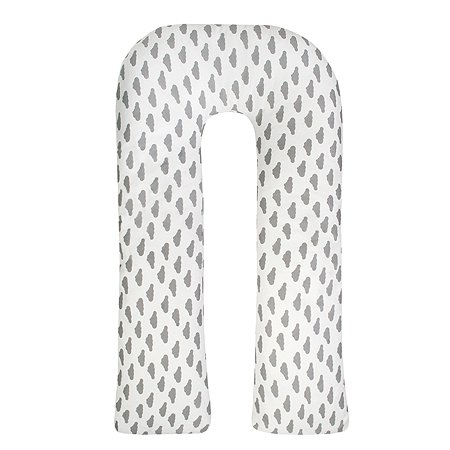 Подушка для беременных AMARO BABY Небо U-образная Серый
