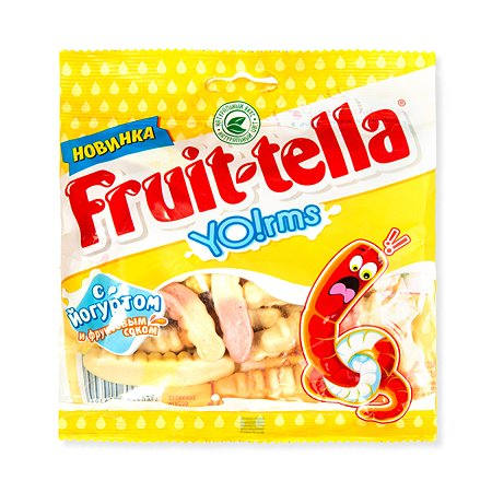 Мармелад Фруттелла жевательный червяки 138г