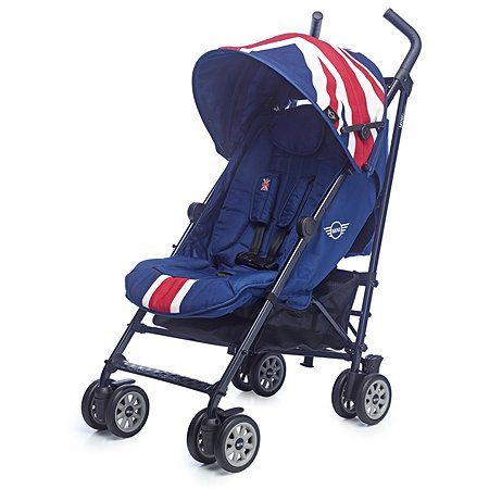 Коляска Easywalker Mini Buggy Union Jack Classic c бампером