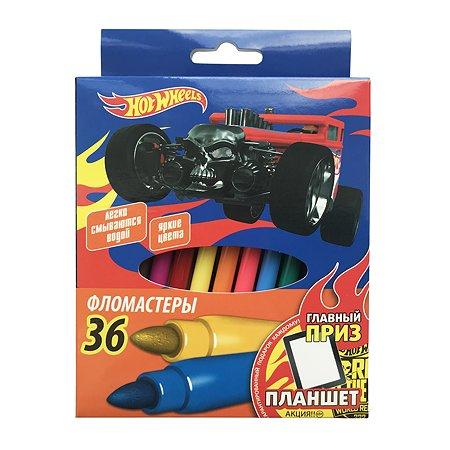 Фломастеры Barbie Hot Wheels 36 цветов 1202227