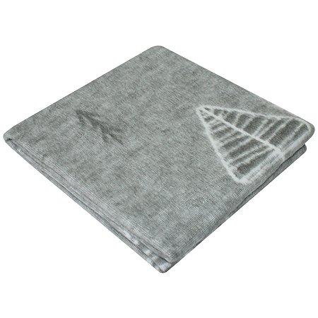 Одеяло байковое Ермошка Лес Серое 57-5 ЕТОЖ Премиум