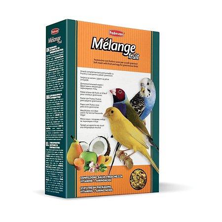 Корм для птиц PADOVAN Melange декоративных дополнительный фрукты яйцо 0.3кг