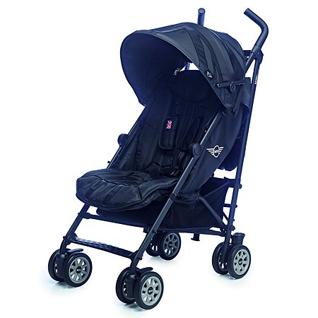 Коляска Easywalker Mini Buggy Midnight Jack c бампером