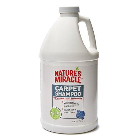 Средство моющее для ковров и мягкой мебели Natures Miracle CarpetShampoo с нейтрализаторами аллергенов 1.9 л