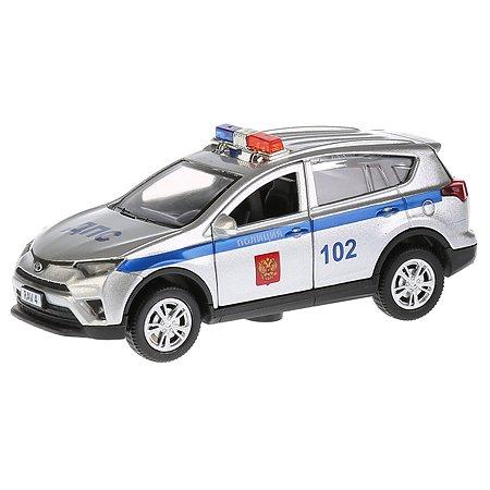 Машина Технопарк Toyota Rav4 Полиция инерционная 259951