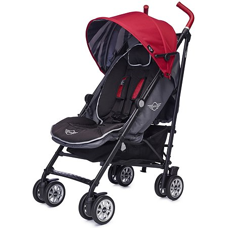 Коляска Easywalker Mini Buggy Union c бампером Red