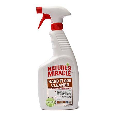 Средство от пятен и запахов Natures Miracle Hard Floor Cleaner для твердых покрытий полов спрей 710 мл