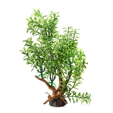 Декорация для аквариума FAUNA Растение на коряге-2 FIAD-1248