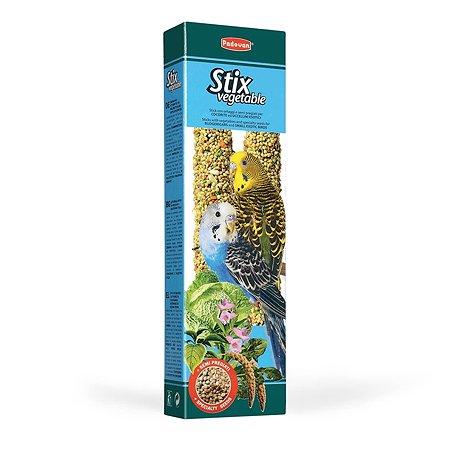 Лакомство для волнистых попугаев PADOVAN Stix Палочки овощные 0.08кг