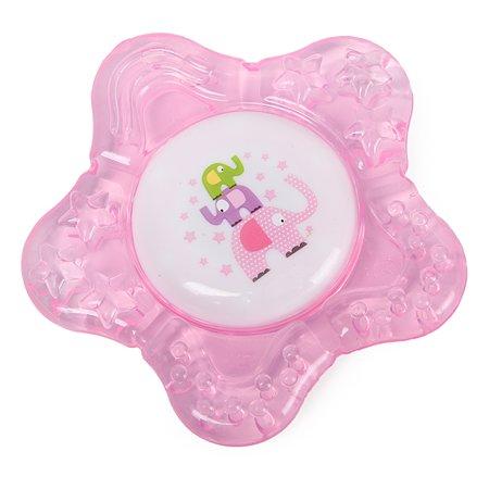 Прорезыватель Baby Go Звездочка с водой Pink
