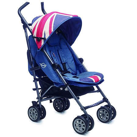 Коляска Easywalker Mini Buggy XL Union Jack Vintage c бампером