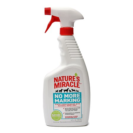 Средство Natures Miracle No More Marking против повторных меток от собак спрей 710 мл