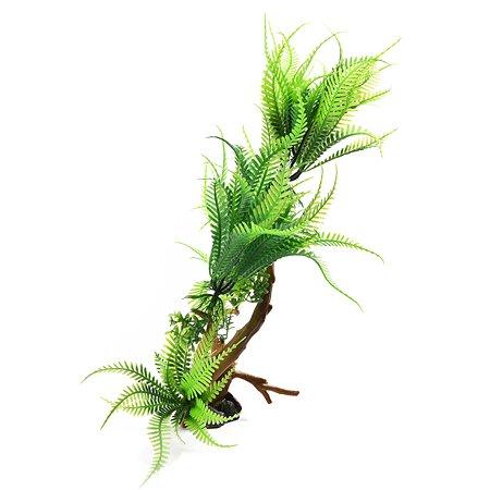 Декорация для аквариума FAUNA Растение на коряге-4 FIAD-1250