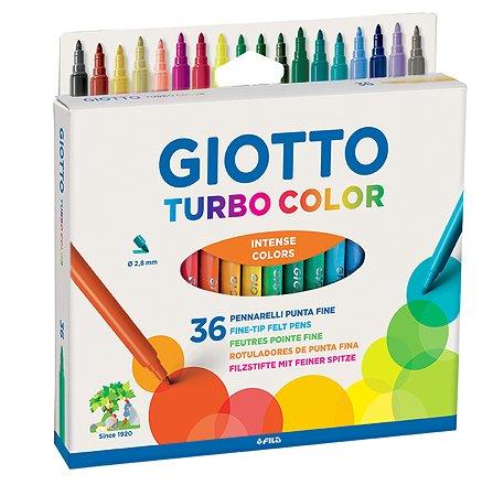 Набор фломастеров GIOTTO TurboColor 36цвета 071600