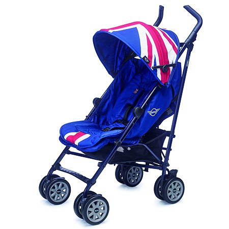 Коляска Easywalker Mini Buggy XL Union Jack Classic c бампером