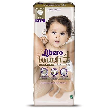 Подгузники Libero Touch 4 7-11кг 48шт
