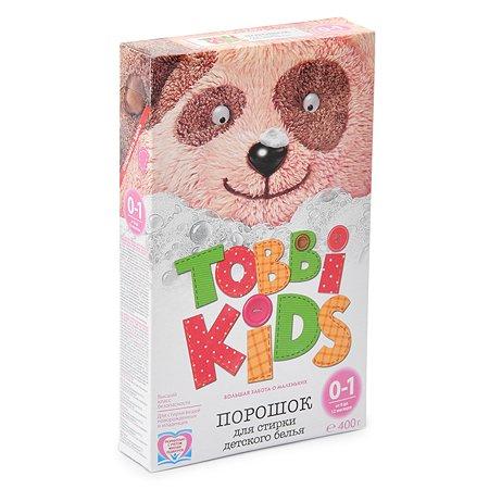 Порошок Tobbi Kids для стирки детского белья 0-12 400г
