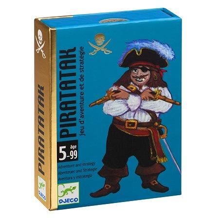 Игра настольная Djeco Пират карточная 05113