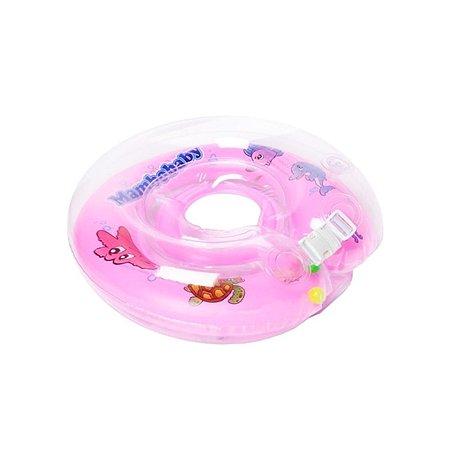 Круг для купания Mambobaby розовый 6-36мес