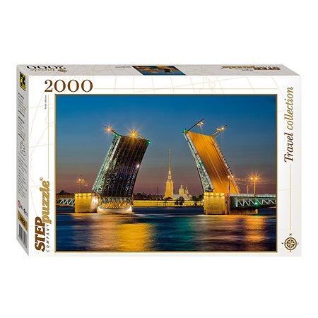 Пазл Step Puzzle Санкт-Петербург Дворцовый мост 2000 элементов 84026