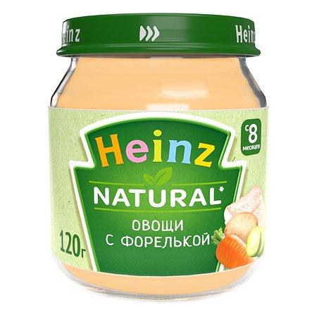 Пюре Heinz овощи с форелькой 120г 8месяцев