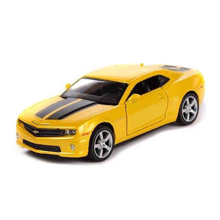 Машина Mobicaro Chevrolet Camaro 1:32 Желтый металлик