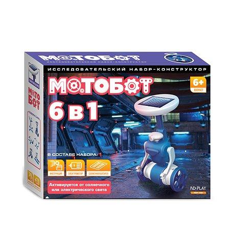 Конструктор ND PLAY Мотобот 6 в 1