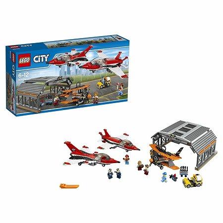 Конструктор LEGO City Airport Авиашоу (60103)